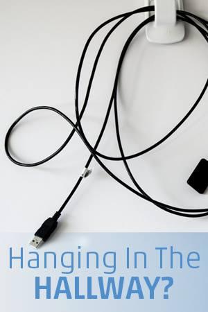 Sensor hanging